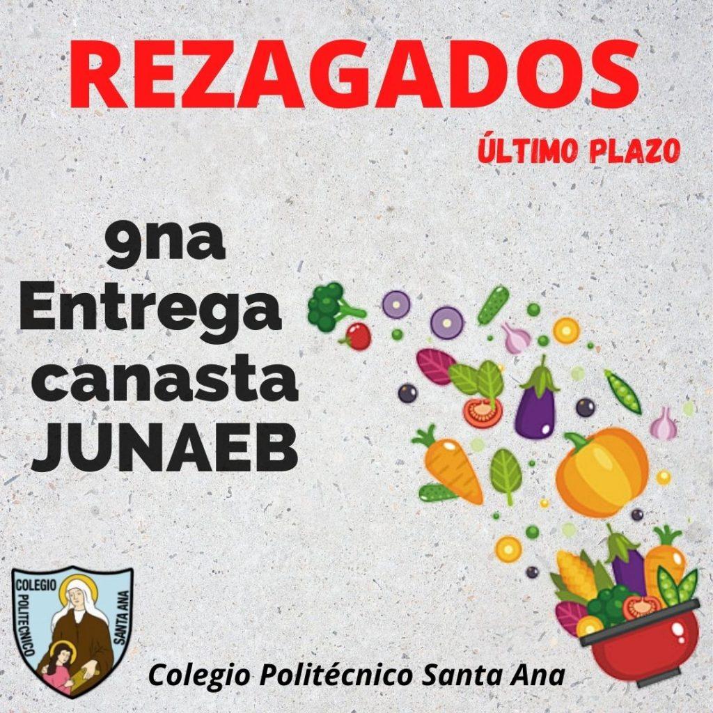 REZAGADOS 9na Entrega canasta JUNAEB