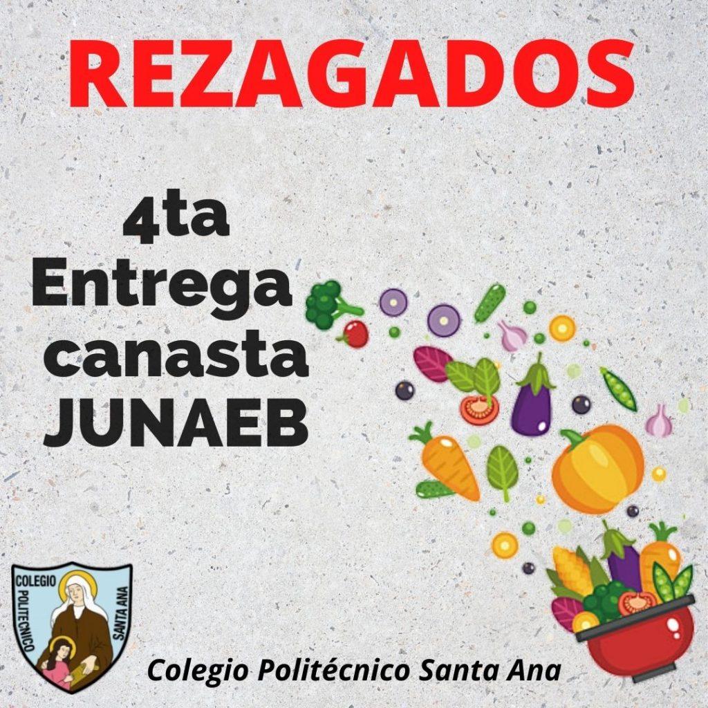 Rezagados 4ta Entrega Canasta JUNAEB