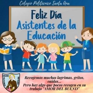 Día nacional del Asistente de la Educación