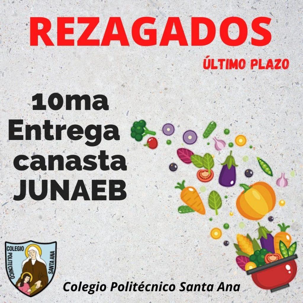 REZAGADOS 10ma Entrega canasta JUNAEB