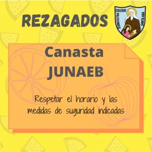 Entrega Canastas JUNAEB - Rezagadas