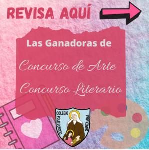 Ganadoras Concurso de Artes y Literario
