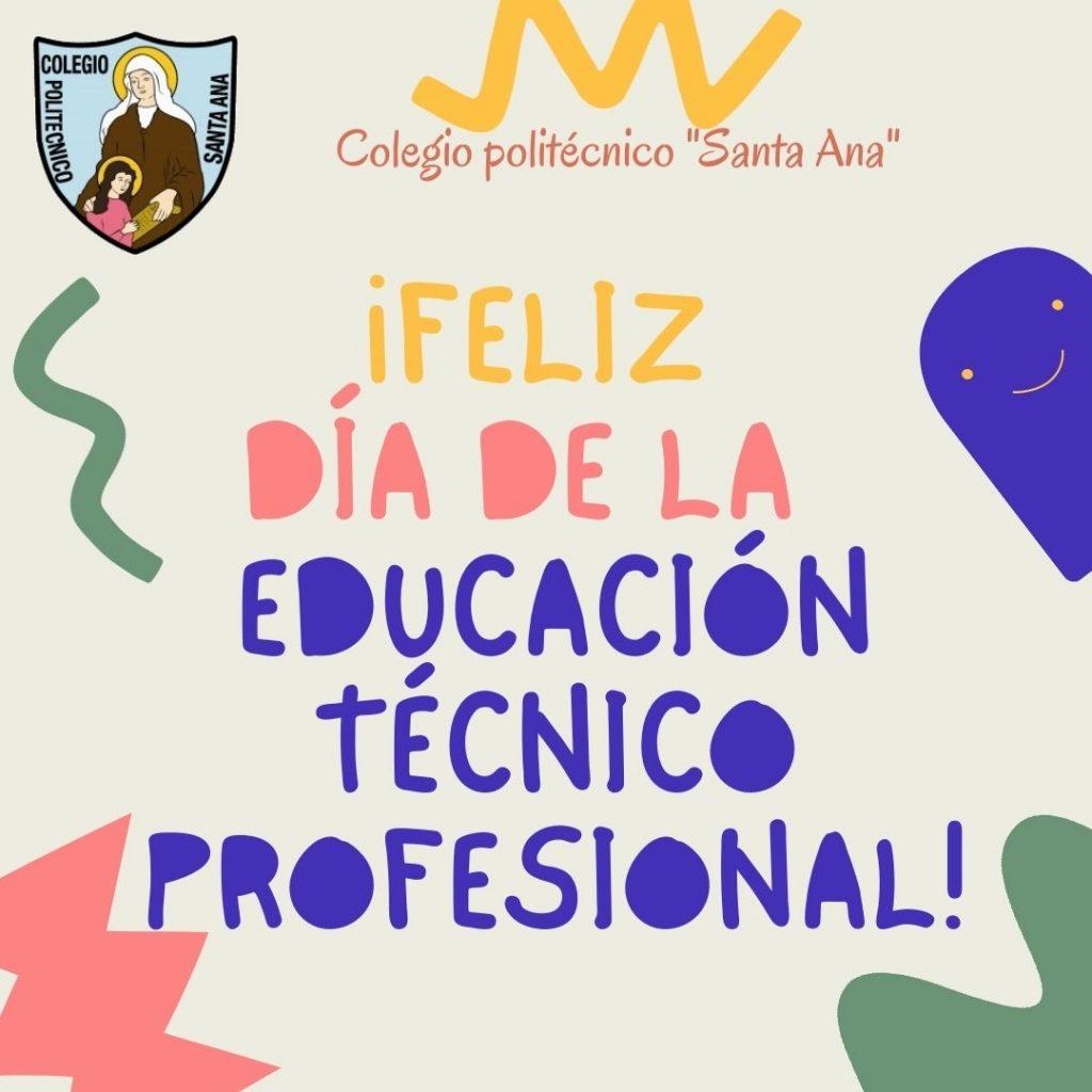 Feliz día de la Educación Técnico Profesional