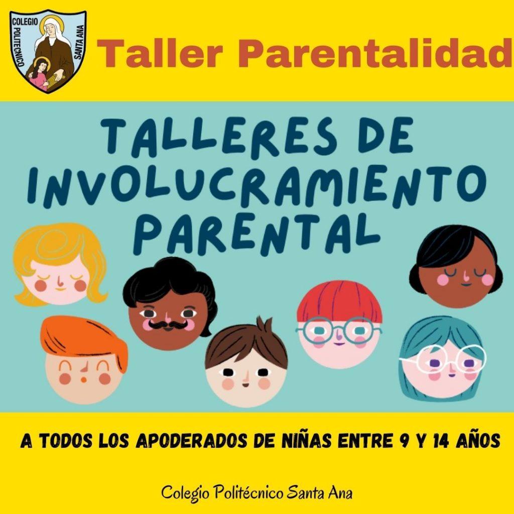 Taller de Parentalidad para Padres y Apoderados