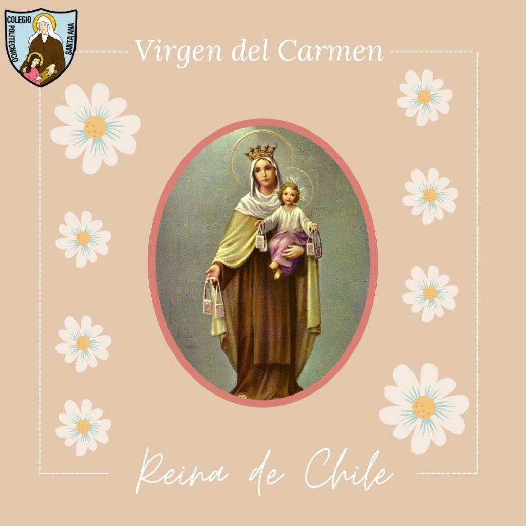 Virgen del Carmen, Reina de Chile