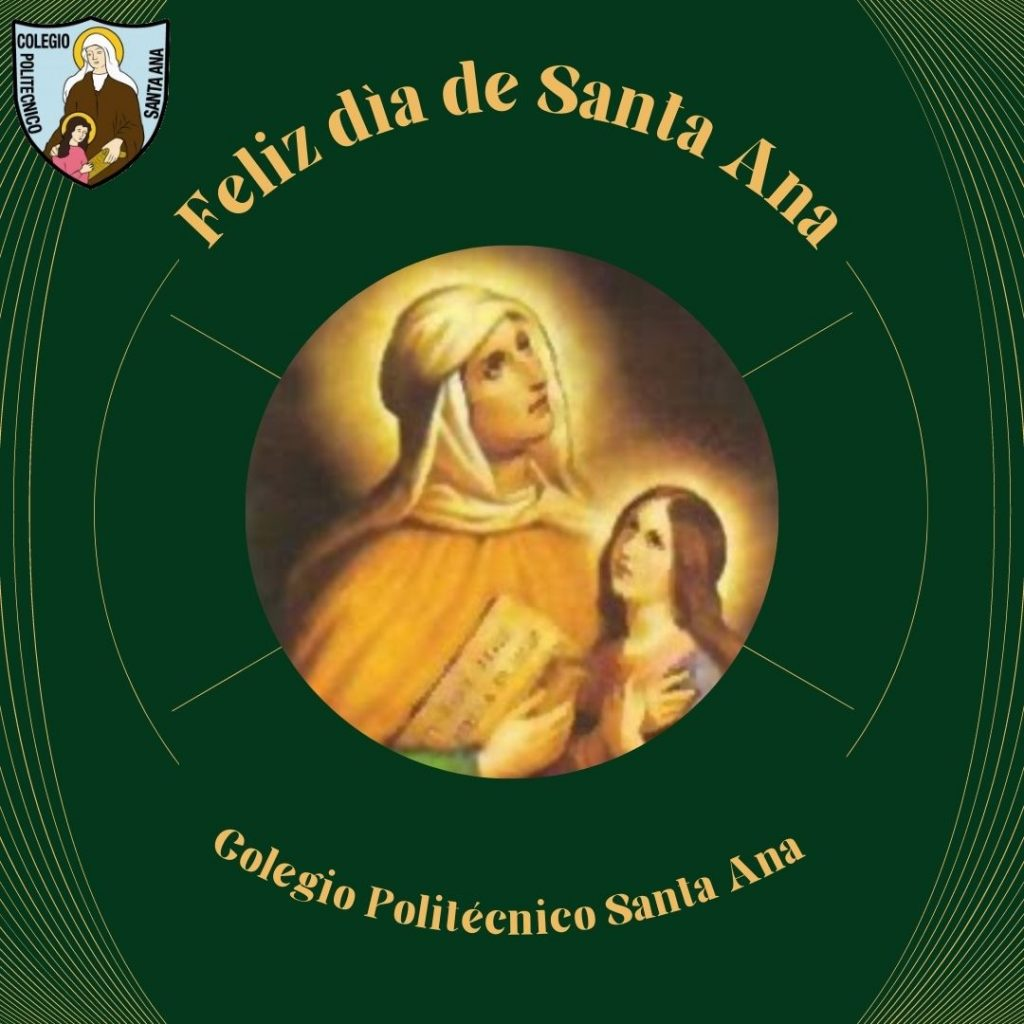 Saludo de nuestra comunidad por el día de Santa Ana