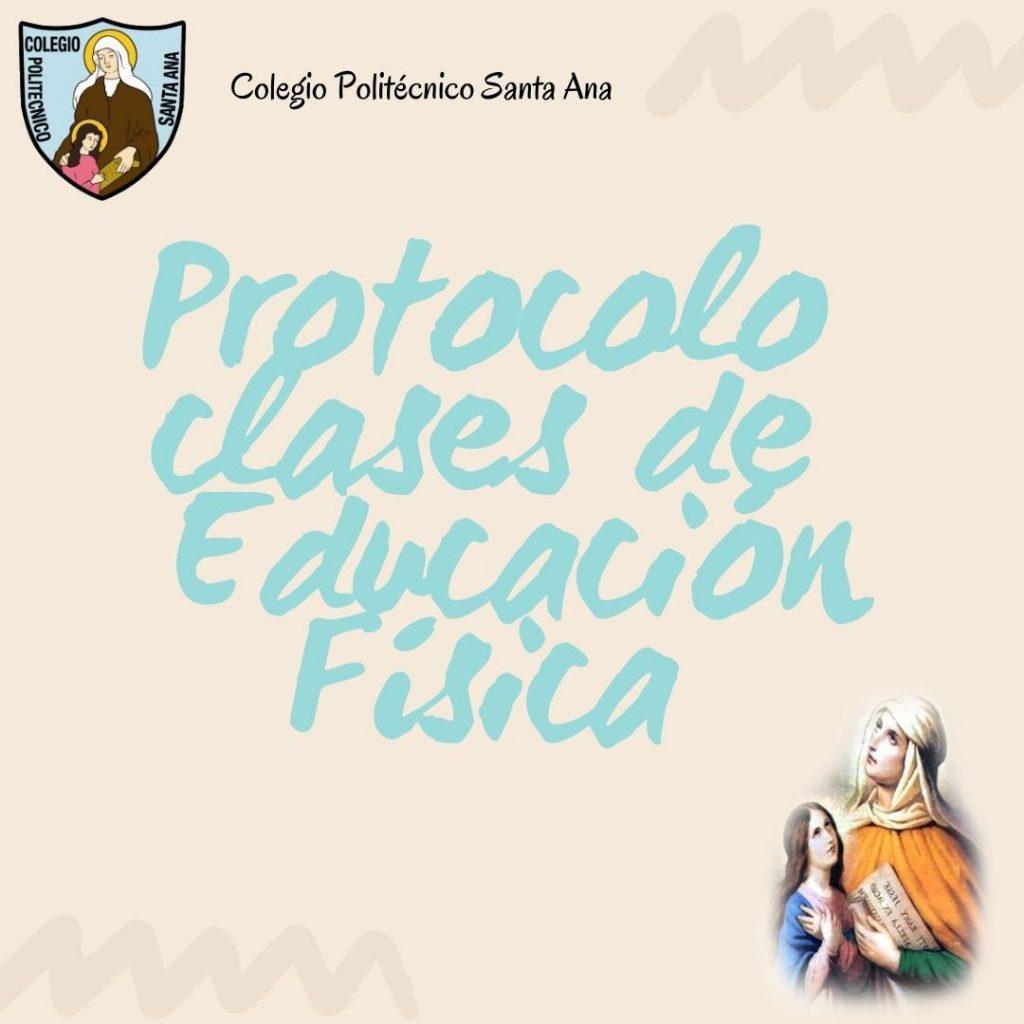 Protocolo Clases de Educación Física