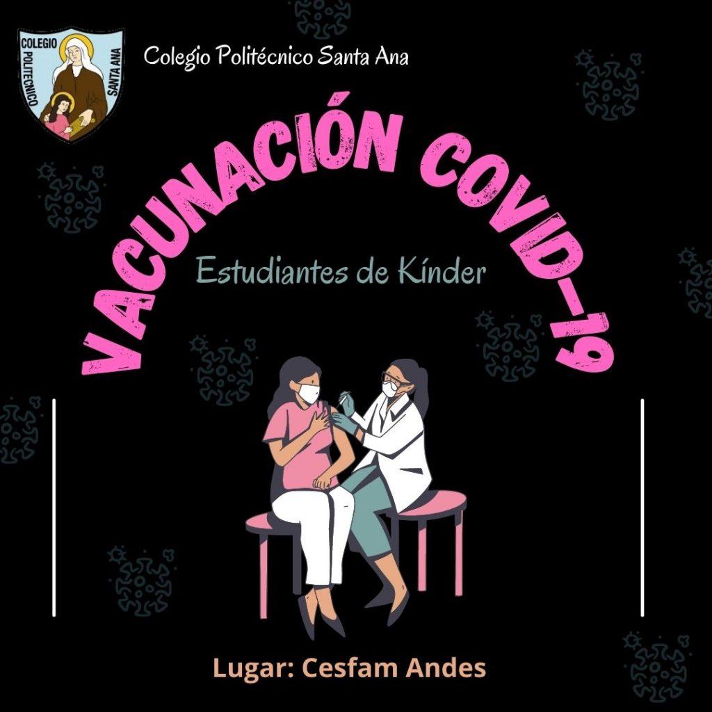 Vacunación covid-19 para estudiantes de Kínder