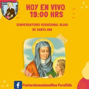 CONVERSATORIO VOCACIONAL HIJAS DE SANTA ANA EN VIVO