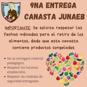 9na Entrega canasta JUNAEB