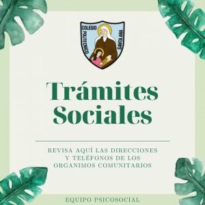 Trámites Sociales